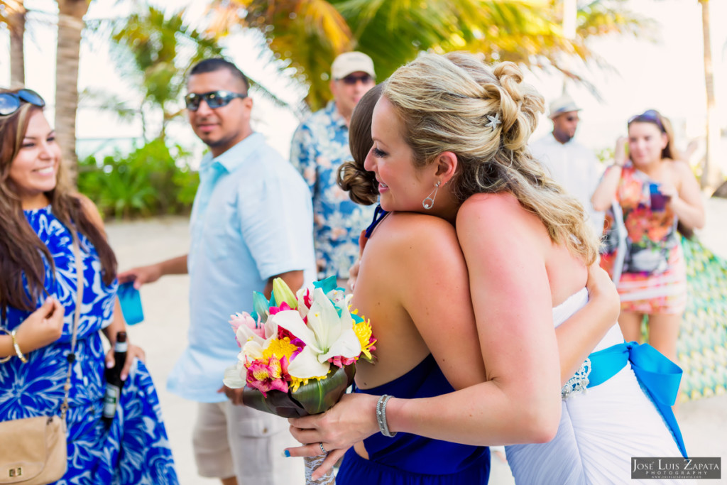 Kevin & Mandy - Blue Dolphin Vacation House Wedding - Ambergris Caye, Belize (54)