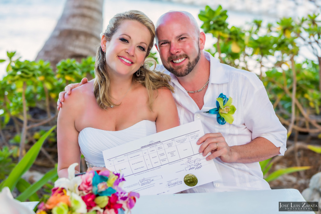 Kevin & Mandy - Blue Dolphin Vacation House Wedding - Ambergris Caye, Belize (52)