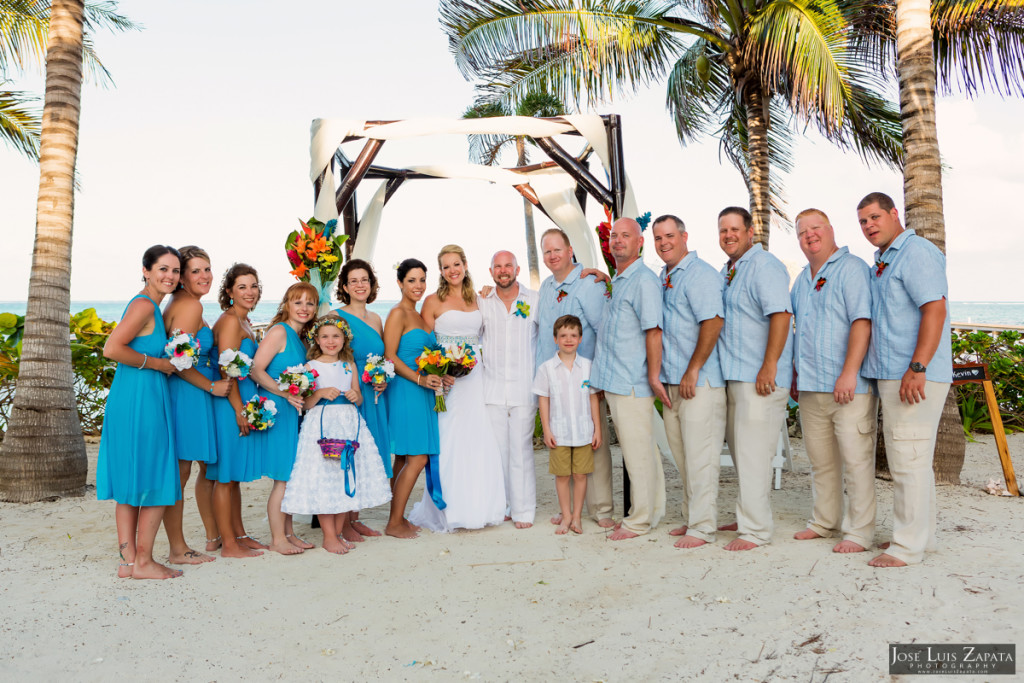 Kevin & Mandy - Blue Dolphin Vacation House Wedding - Ambergris Caye, Belize (51)