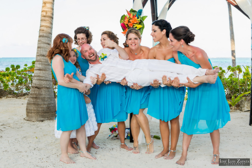 Kevin & Mandy - Blue Dolphin Vacation House Wedding - Ambergris Caye, Belize (50)