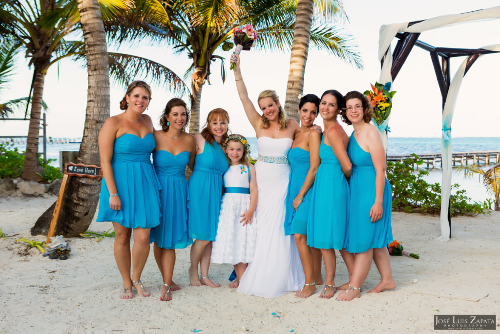 Kevin & Mandy - Blue Dolphin Vacation House Wedding - Ambergris Caye, Belize (48)