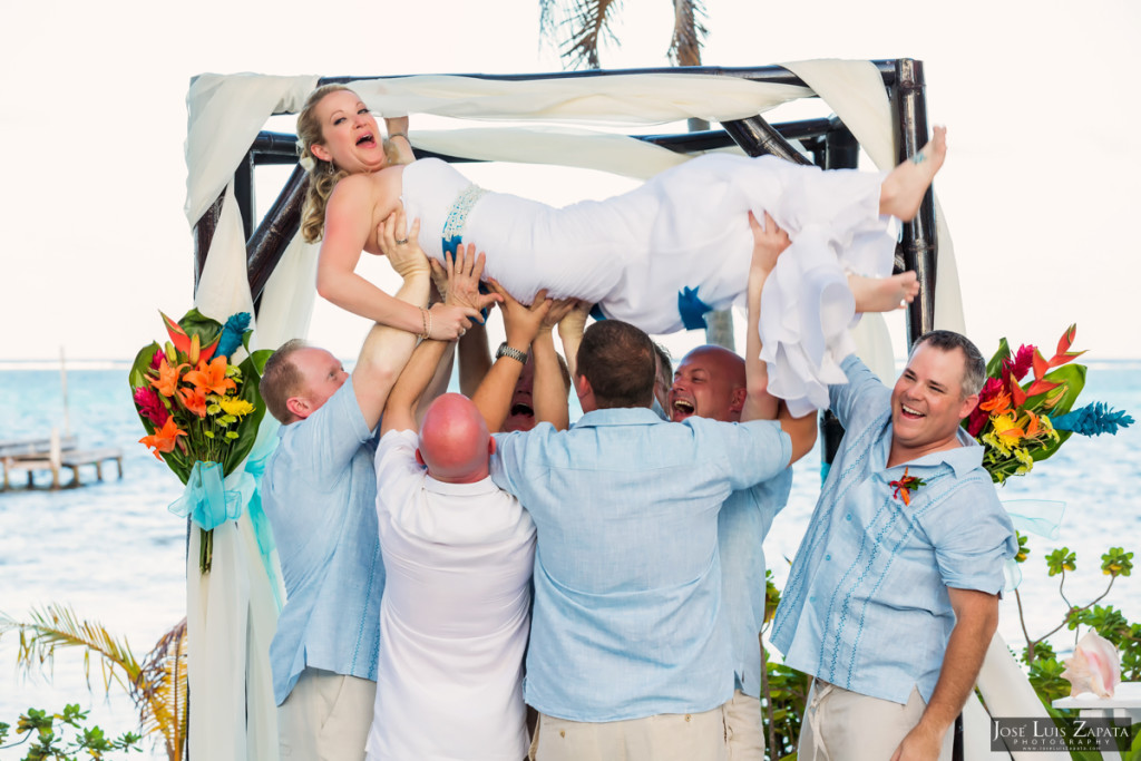 Kevin & Mandy - Blue Dolphin Vacation House Wedding - Ambergris Caye, Belize (46)