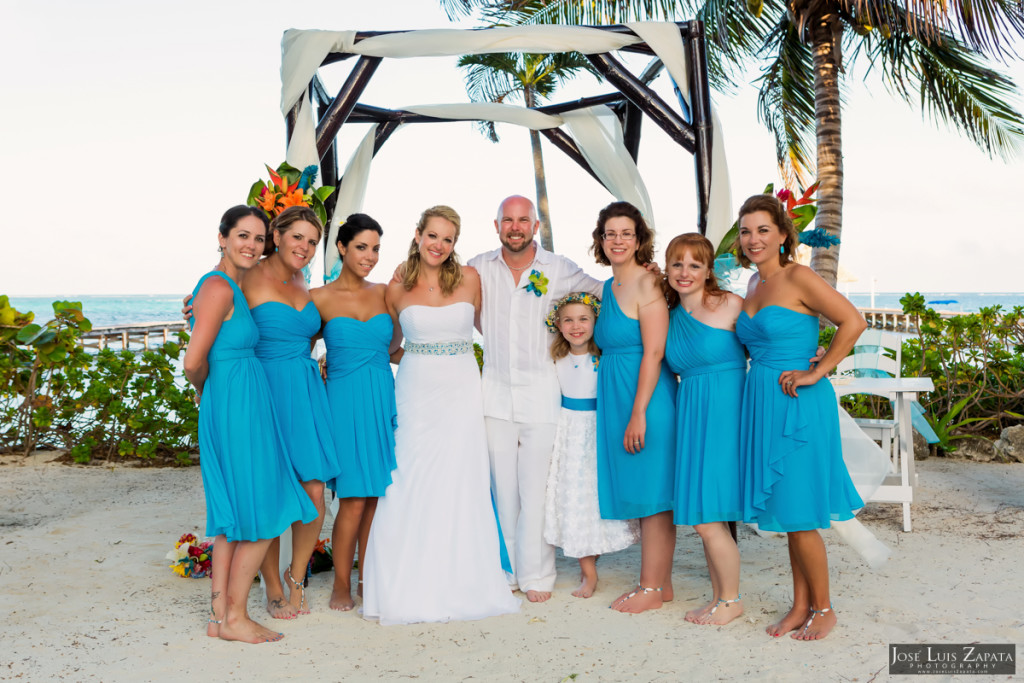 Kevin & Mandy - Blue Dolphin Vacation House Wedding - Ambergris Caye, Belize (45)