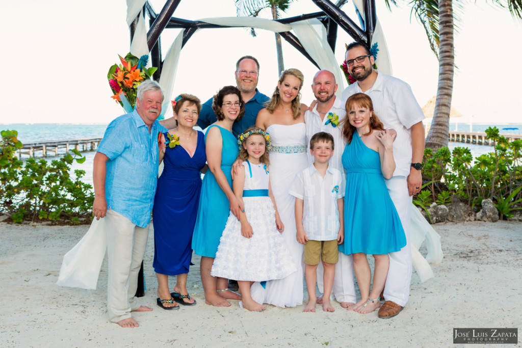 Kevin & Mandy - Blue Dolphin Vacation House Wedding - Ambergris Caye, Belize (44)