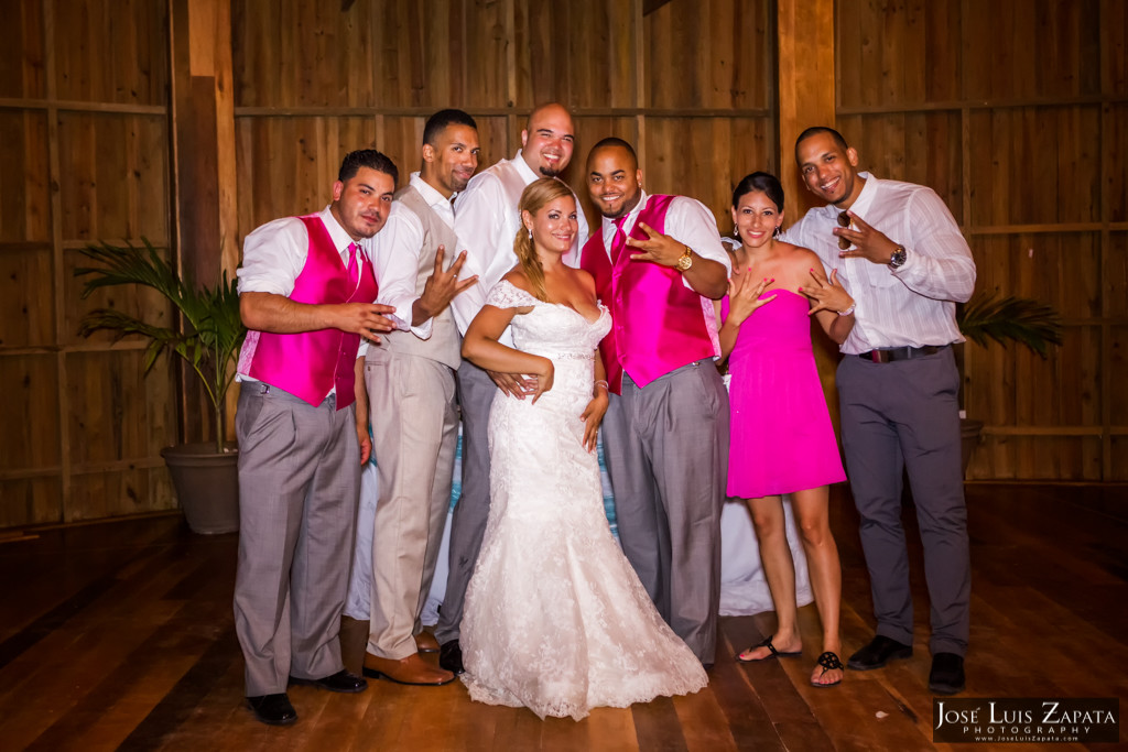 Oscar & Sherlyn Coco Beach Belize Wedding and Next Day Photos (16)