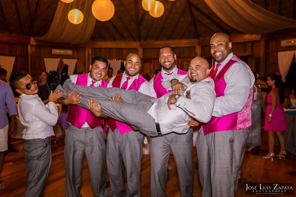 Oscar & Sherlyn Coco Beach Belize Wedding and Next Day Photos (14)