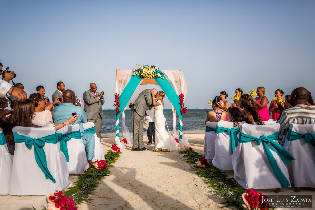 Oscar & Sherlyn Coco Beach Belize Wedding and Next Day Photos (52)