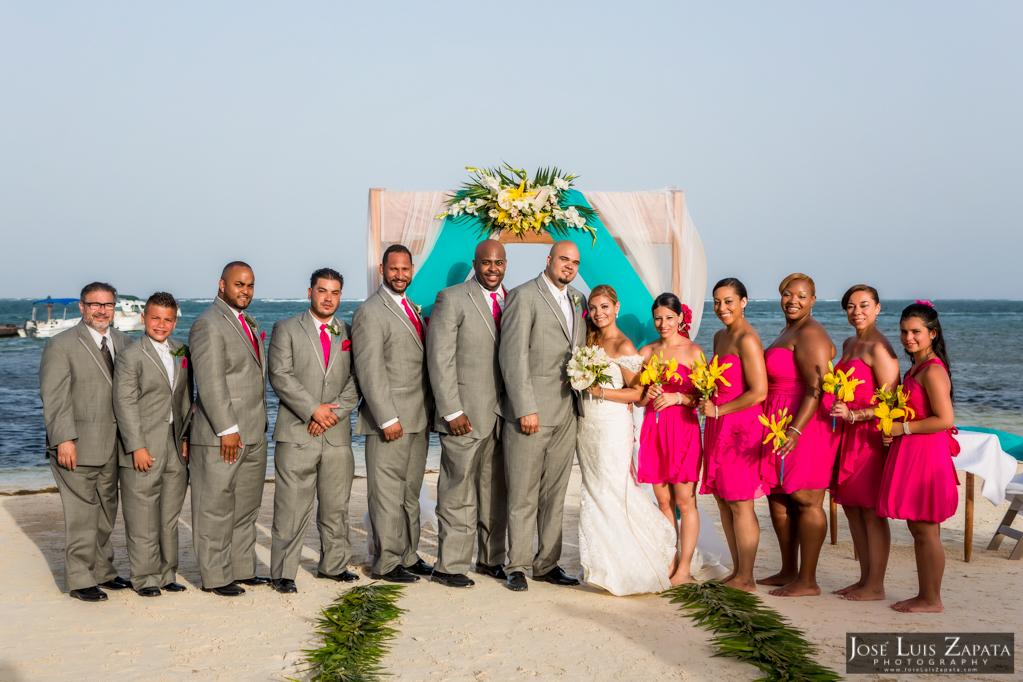 Oscar & Sherlyn Coco Beach Belize Wedding and Next Day Photos (47)