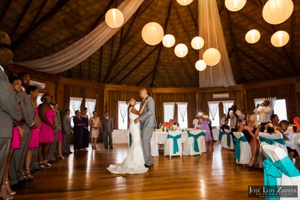 Oscar & Sherlyn - Luxury Palapa Wedding - Coco Beach Belize Wedding and Next Day Photos