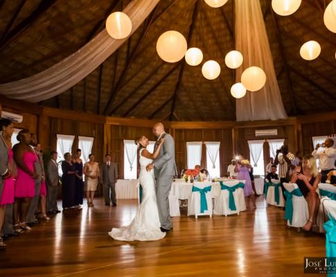 Coco Beach Belize Luxury Palapa Wedding