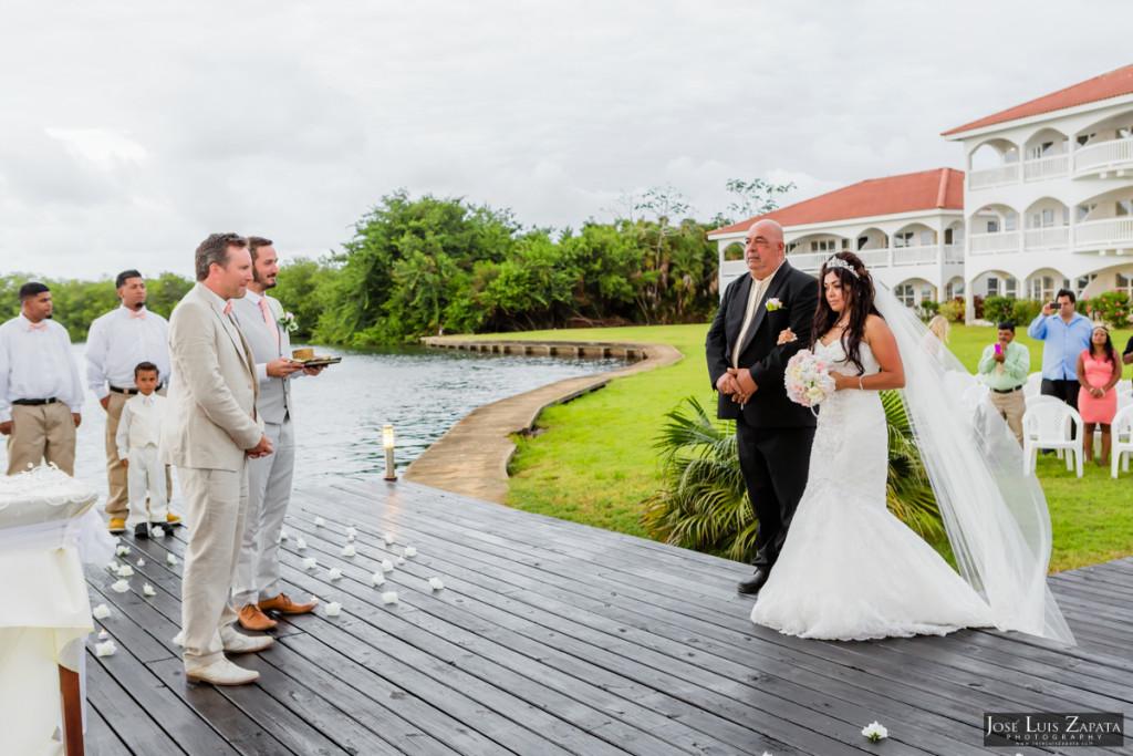 Paul & Venessa - Placencia Luxury Wedding - Belize Ocean Club - Luxury Wedding