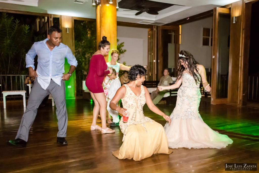 Paul & Venessa - Placencia Belize Wedding - Belize Ocean Club - Luxury Wedding