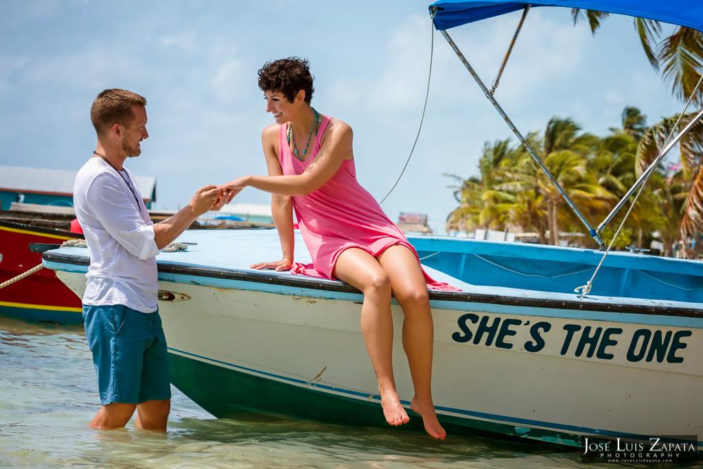 San Pedro Town Belize Engagement (21)
