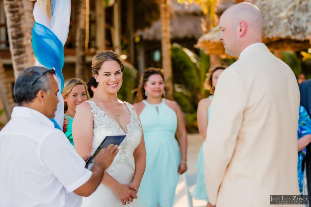 Shawna & Eric - Xanadu Island Resort, Belize Wedding (25)