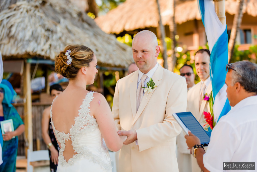 Shawna & Eric - Xanadu Island Resort, Belize Wedding (23)