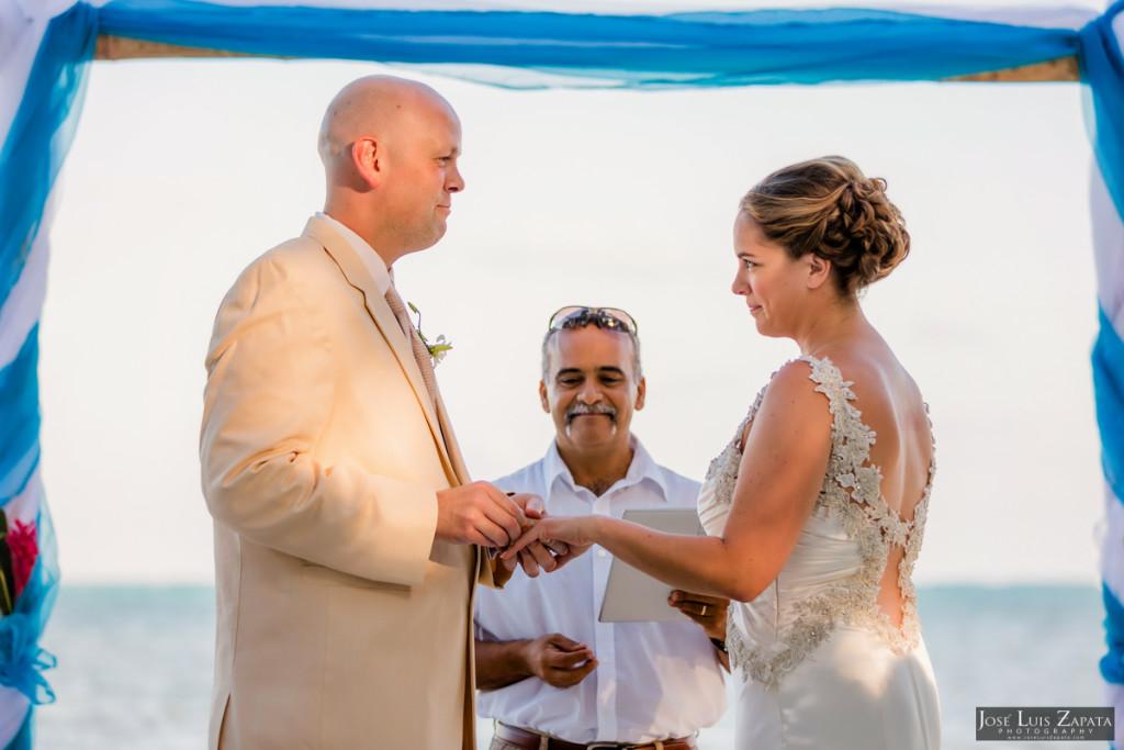 Shawna & Eric - Xanadu Island Resort, Belize Wedding (20)