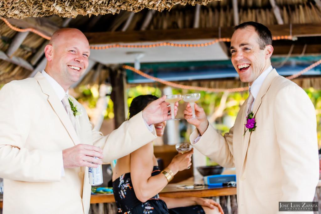 Shawna & Eric - Xanadu Island Resort, Belize Wedding (14)
