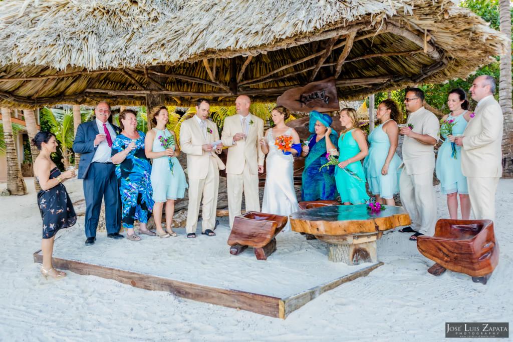 Shawna & Eric - Xanadu Island Resort, Belize Wedding (12)