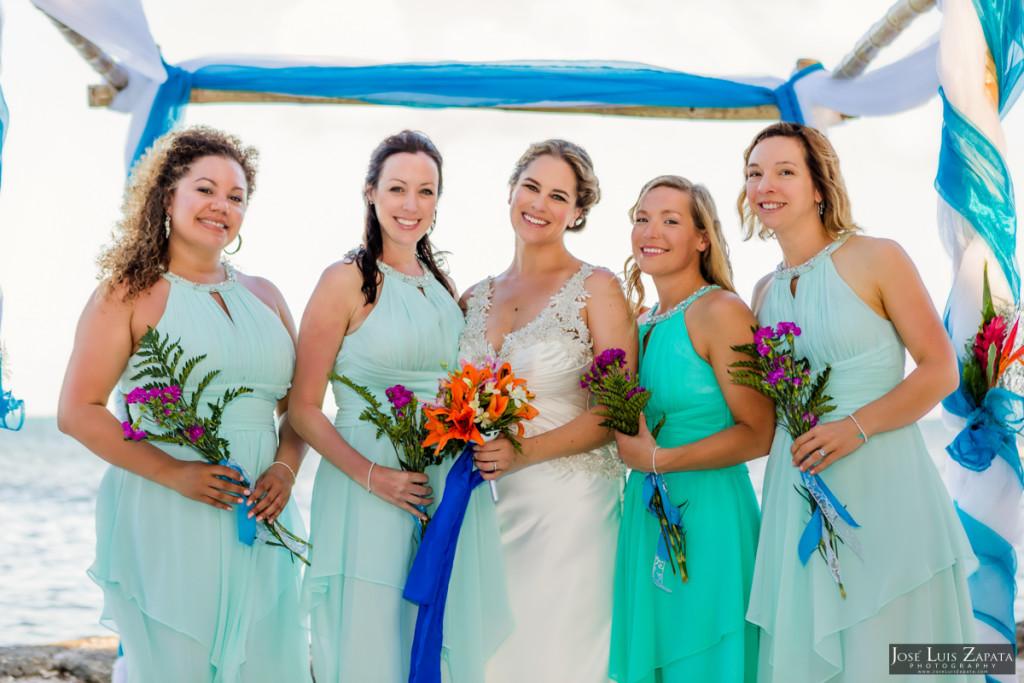 Shawna & Eric - Xanadu Island Resort, Belize Wedding (11)