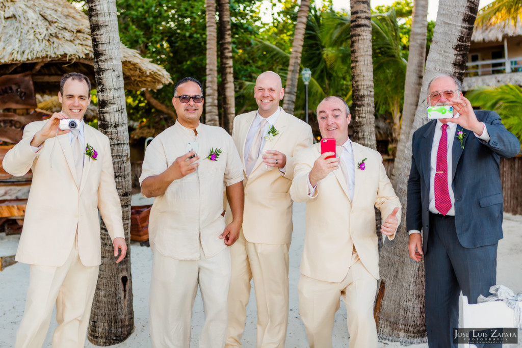 Shawna & Eric - Xanadu Island Resort, Belize Wedding (10)