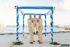 Shawna & Eric - Xanadu Island Resort, Belize Wedding (9)