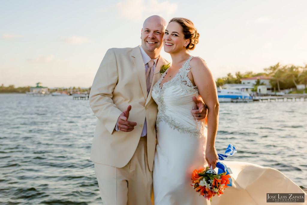 Shawna & Eric - Xanadu Island Resort, Belize Wedding (7)