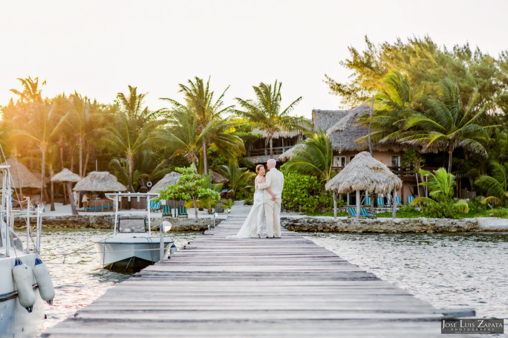 Shawna & Eric - Xanadu Island Resort, Belize Wedding (5)