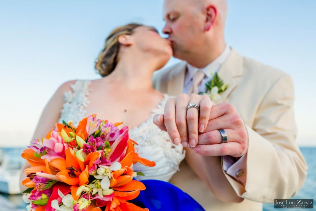 Shawna & Eric - Xanadu Island Resort, Belize Wedding (4)