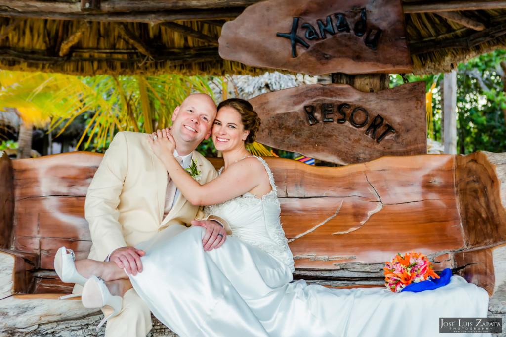Shawna & Eric - Xanadu Island Resort, Belize Wedding (3)