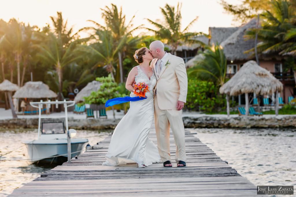 Shawna & Eric - Xanadu Island Resort, Belize Wedding (2)