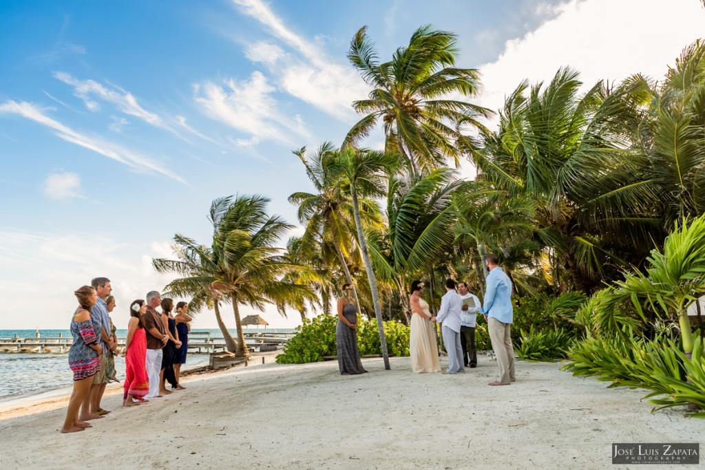 San Pedro Belize, Beach Wedding