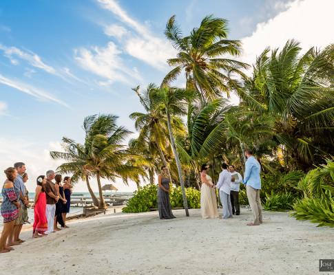 Jeffrey & Mattie | San Pedro Belize Wedding – The Palm House