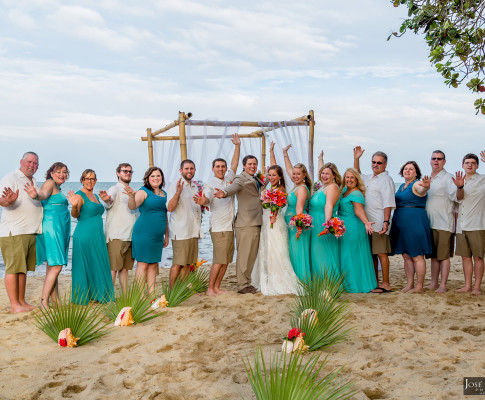 Destination Hopkins Belize Wedding