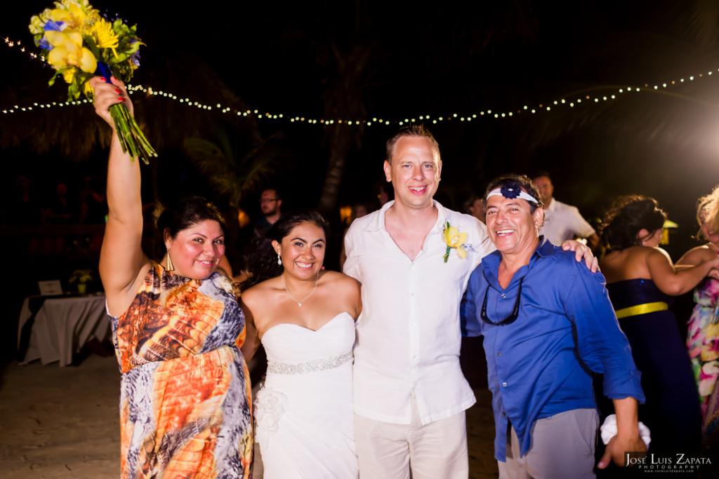 Jeff & Haidy - Ramon's Village Resort, San Pedro Belize Wedding