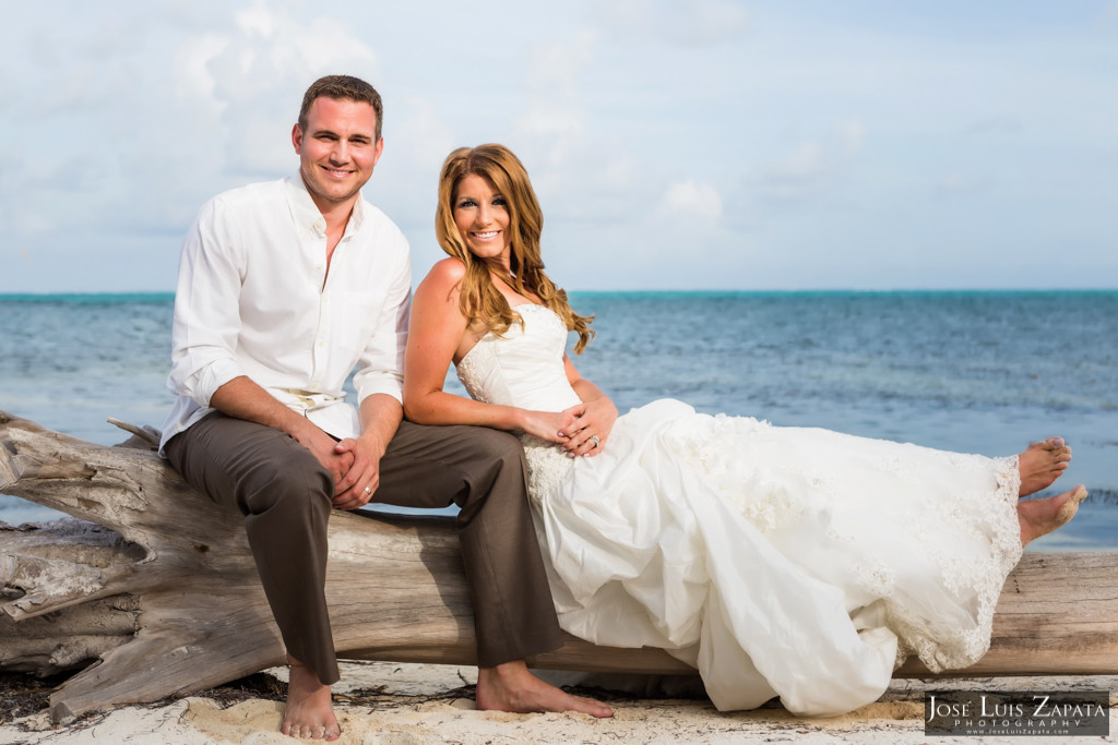 Mike & Jaclyn Wedding Photos - San Pedro Belize (37)