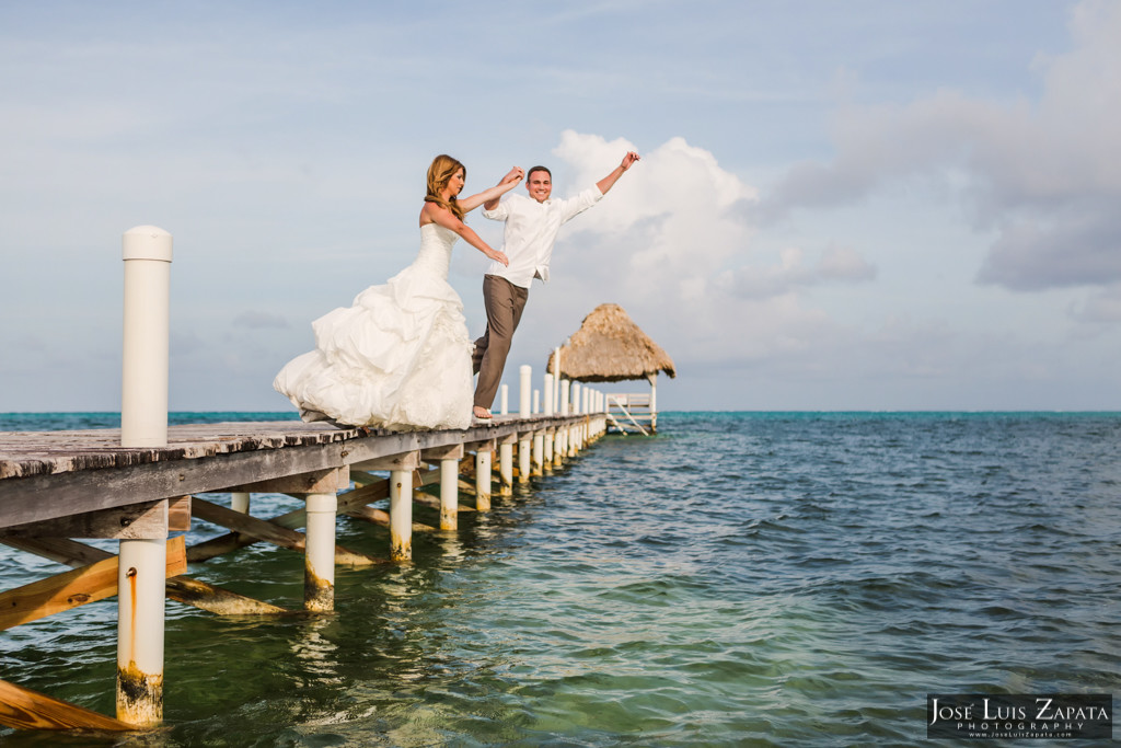 Mike & Jaclyn Wedding Photos - San Pedro Belize (28)
