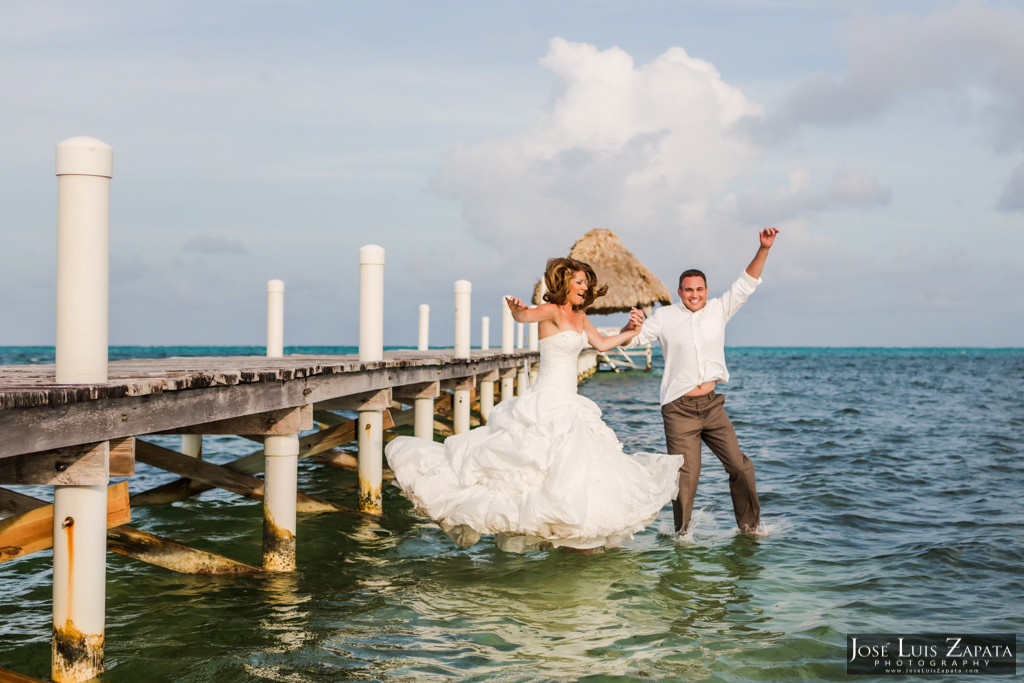 Mike & Jaclyn Wedding Photos - San Pedro Belize (27)