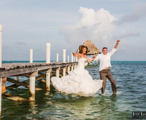 Wedding Photo Shoot, San Pedro Belize