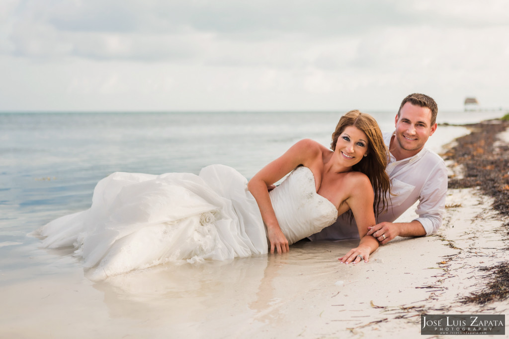 Mike & Jaclyn Wedding Photos - San Pedro Belize (22)