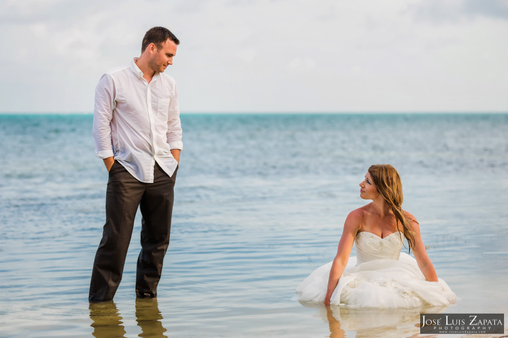Mike & Jaclyn Wedding Photos - San Pedro Belize (19)