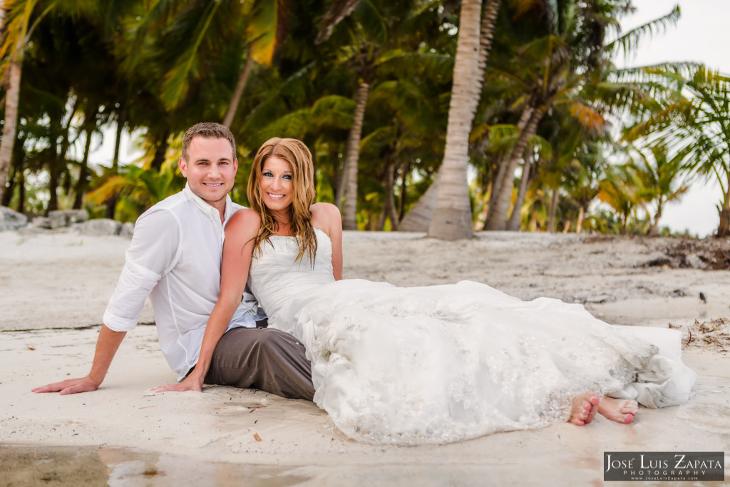 Mike & Jaclyn Wedding Photos - San Pedro Belize (18)