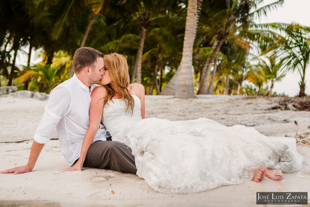 Mike & Jaclyn Wedding Photos - San Pedro Belize (17)