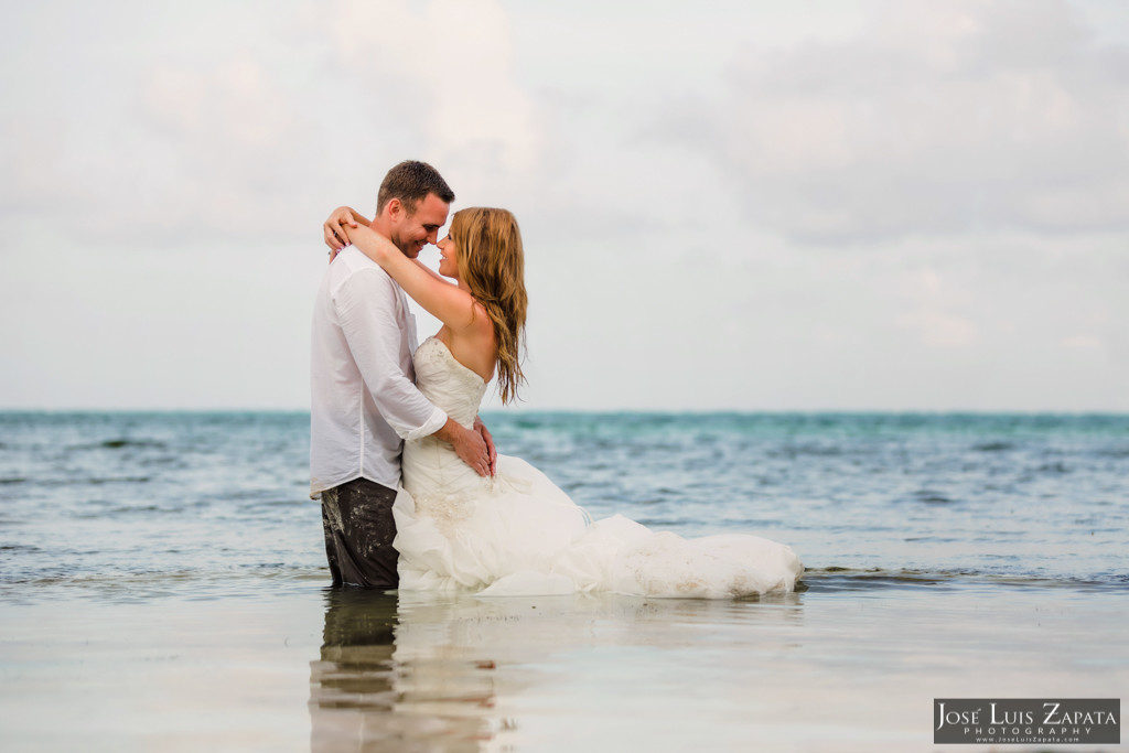 Mike & Jaclyn Wedding Photos - San Pedro Belize (12)