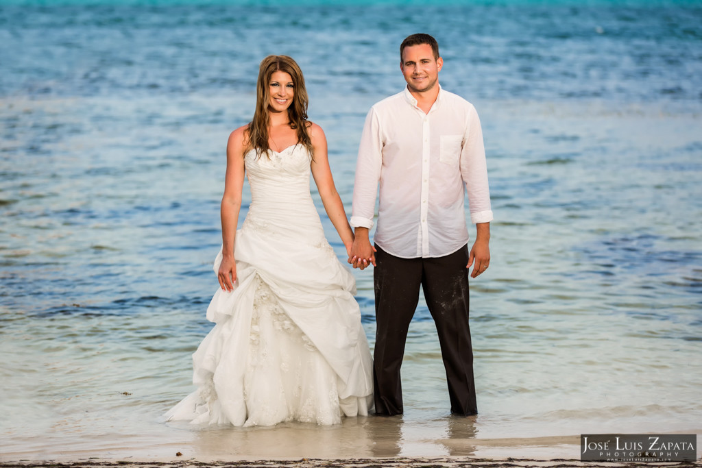 Mike & Jaclyn Wedding Photos - San Pedro Belize (11)