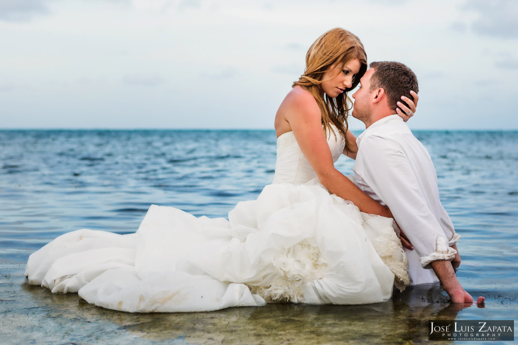 Mike & Jaclyn Wedding Photos - San Pedro Belize (8)