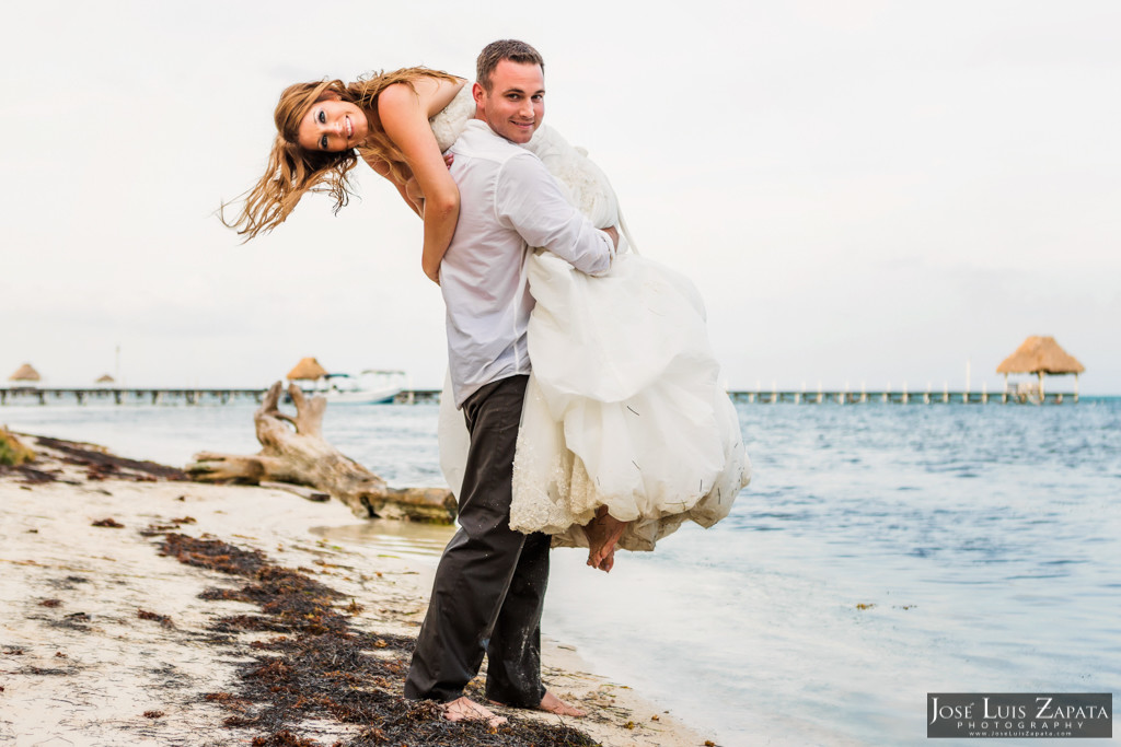 Mike & Jaclyn Wedding Photos - San Pedro Belize (5)