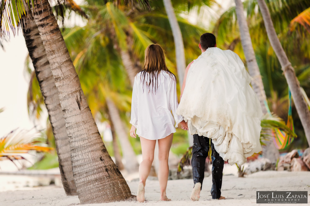 Mike & Jaclyn Wedding Photos - San Pedro Belize (2)