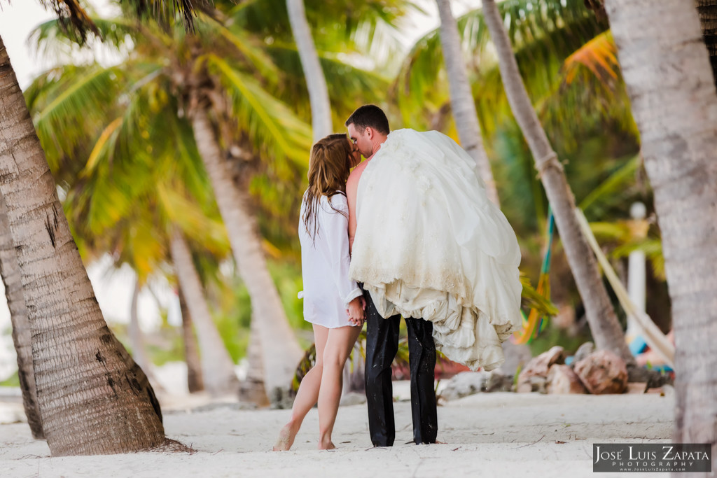 Mike & Jaclyn Wedding Photos - San Pedro Belize (1)