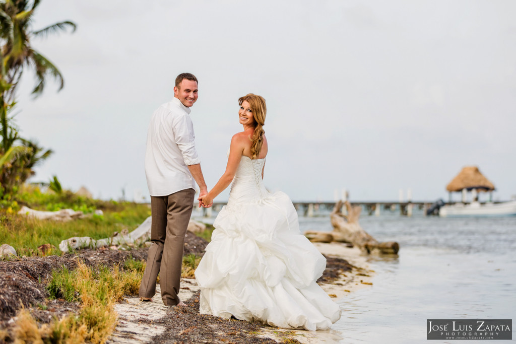 Mike & Jaclyn Wedding Photos - San Pedro Belize (33)