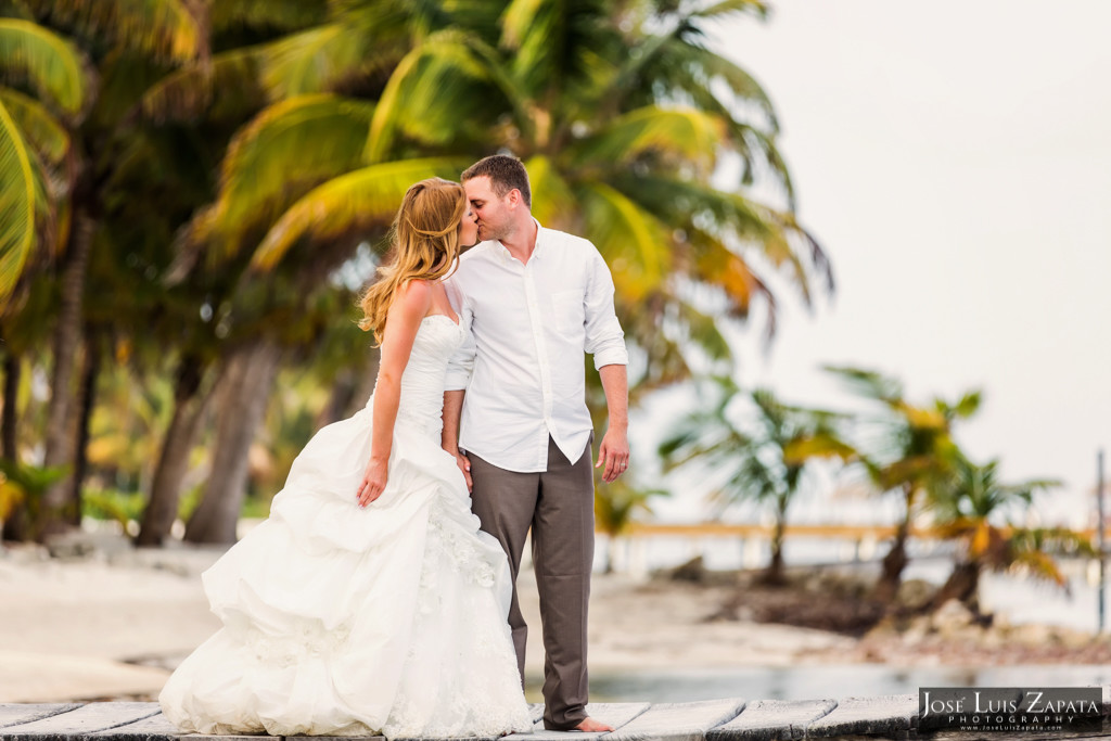Mike & Jaclyn Wedding Photos - San Pedro Belize (32)